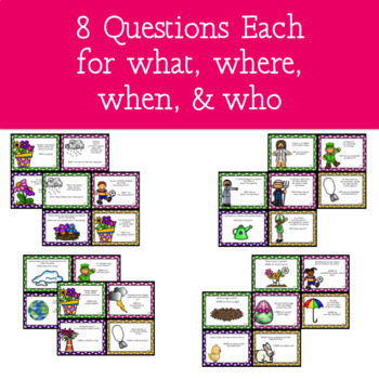 Spring - A WH- Questions Game