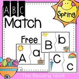 Spring ABC Match FREE