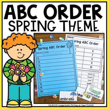 ABC Order - Spring