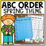 ABC Order Spring