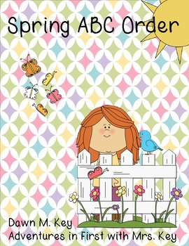 Spring ABC Order {FREEBIE}