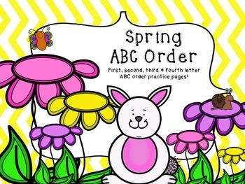 Spring ABC Order Practice