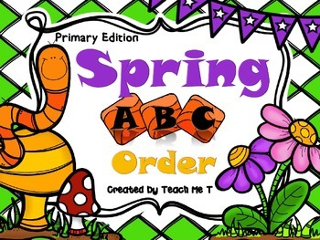 Spring ABC Order Primary Edition