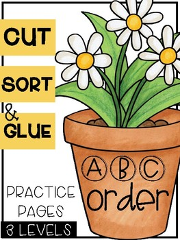 Spring ABC Order Sorts (3 Levels)