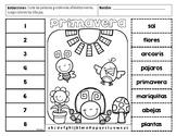 Spring ABC order / Primavera orden alfabético