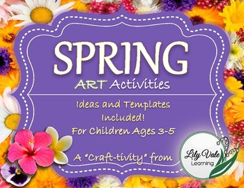 Spring ART Activities-from LilyVale Learning