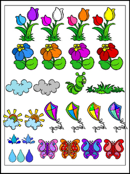 Spring Accents Clipart (10 FREE Elements Included)