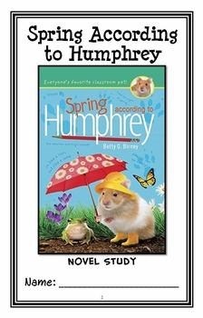 Spring According to Humphrey (Betty G. Birney) Novel Study