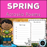 Spring Acrostic Poems Creative Writing Activity