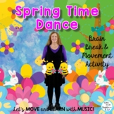 "Spring Action Song, Brain Break, Movement Activity ""Springtime Dance"" Video, Mp3"