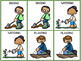 Spring Vocabulary Cards - Actions and Activities