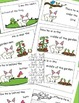Rabbit Emergent Reader, (Positional Words) and Cut and Pas