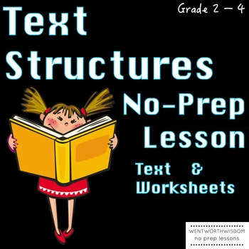 Text Structure Text structure passages main idea reading comprehension