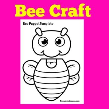 Bee Craft | Bee Activity | Honeybee Craft | Bee Theme | Bee Themed Classroom