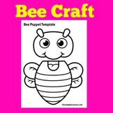Honey Bees Preschool Craft