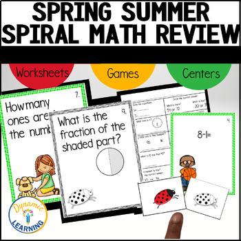 Spring Brain Bounce Math Game