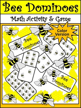Insect Game Activities: Insect Dominoes Spring-Summer Activity Bundle