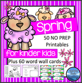 Spring Activities: Spring Math and Language Activities for Kindergarten