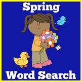 Spring Worksheet Word Search