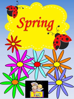 Ladybug - Spring - Clipart - Writing paper - Poster Activity