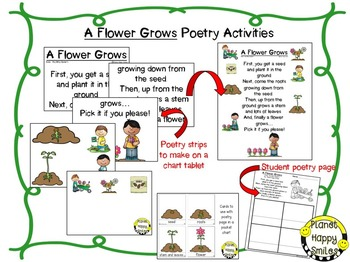 Spring Activities  ~ A Flower Grows: Poetry and Writing