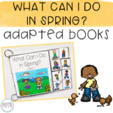 Spring Activities Adapted Books