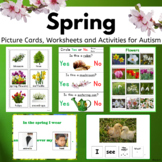 Spring Activities for Speech Therapy and Autism