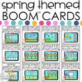 Spring Activities Boom™ Cards BUNDLE: Distance Learning fo