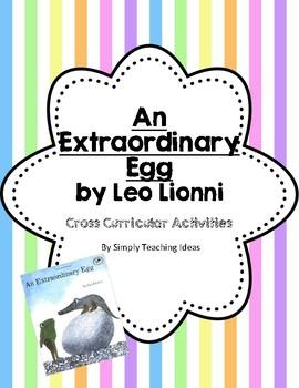 Spring STEM Science Math Writing ELA Bundle Author Leo Lionni