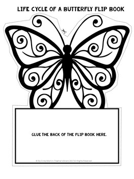 Spring Activities Butterfly Life Cycle Flip Book