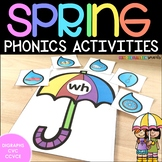 Spring Activities: Digraphs, CVC and CVCe Words