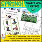 Adapted Books and SPRING Picture Activities for Autism and Speech