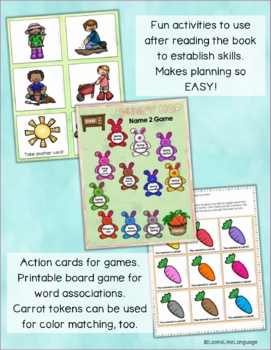 Adapted Books and SPRING Picture Activities for Special Education