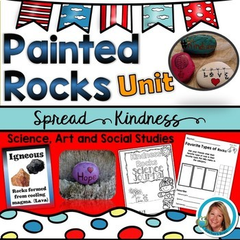 Painted ROCKS Activities - Acts of KINDNESS Unit
