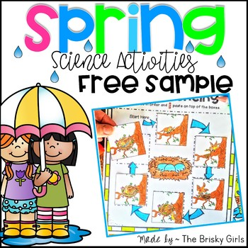 Spring Activities FREE Sample