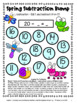 Spring Activities Freebie: Spring Math Games, Spring Writi