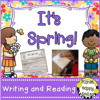 Spring Activities ~ It's Spring:  Reading and Writing