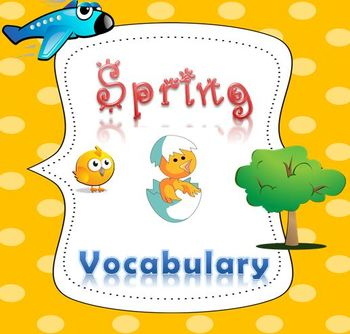 Spring Activities: Learn Vocabulary with Fun