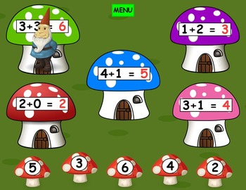 Little Gnome Addition and Subtraction