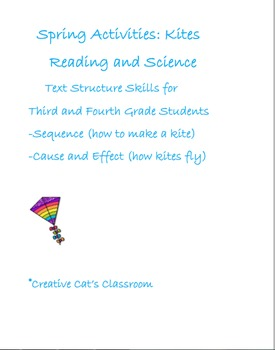Spring Activities: Reading and Science