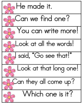 Spring Activities Sight Word Fluency Phrases for 1st 100 Fry Sight Words