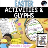 Easter Activities and Crafts: Glyph, Writing Prompts, Prin