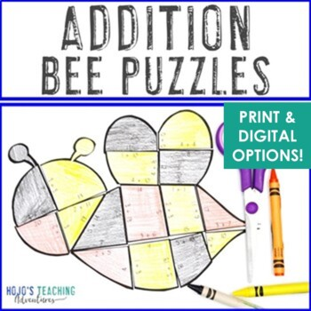 Spring Activities | Spring Math Centers | Bee Theme Supplemental Math Centers