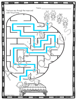 Spring Activities : Spring Mazes