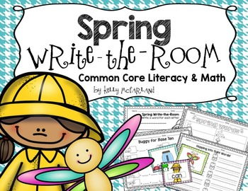 Write the Room {Spring Themed}