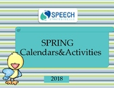 Spring Activities and Calendars