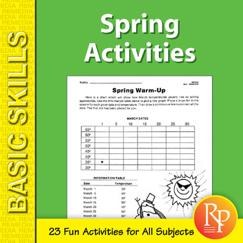 Spring Activities for All Subjects