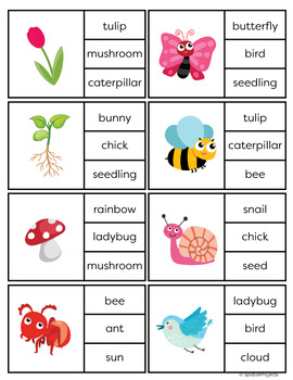Spring Activities for ESL Newcomer