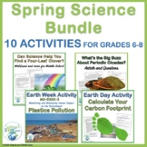 Spring Activities for Middle School Science