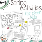 Spring Activities for Older Kids - No Prep